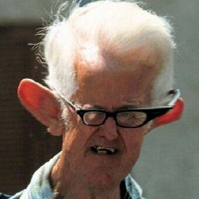 old man with huge ears catch all pinterest funny old man