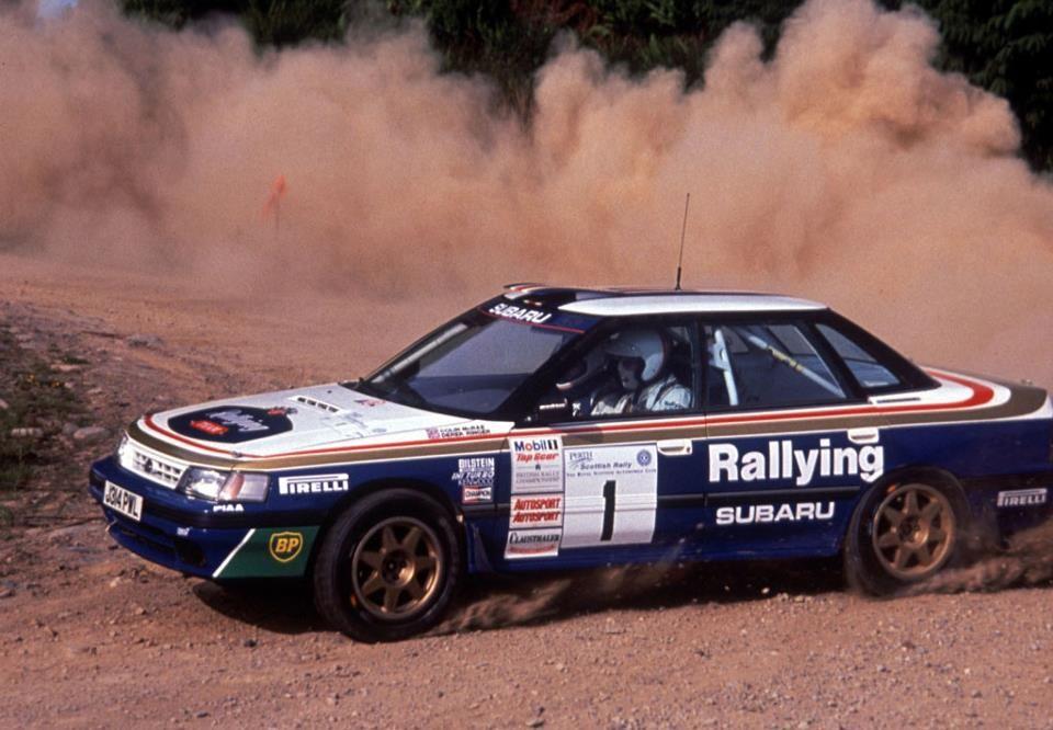 40 Years Of Not Getting Stuck A Subaru Awd History Subaru Legacy Subaru Rally Car