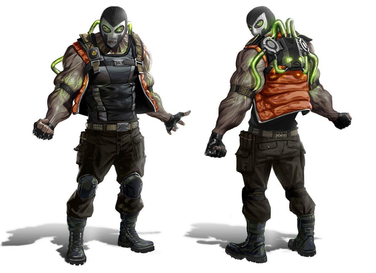 Venom Thug - Characters & Art - Batman: Arkham Origins ...