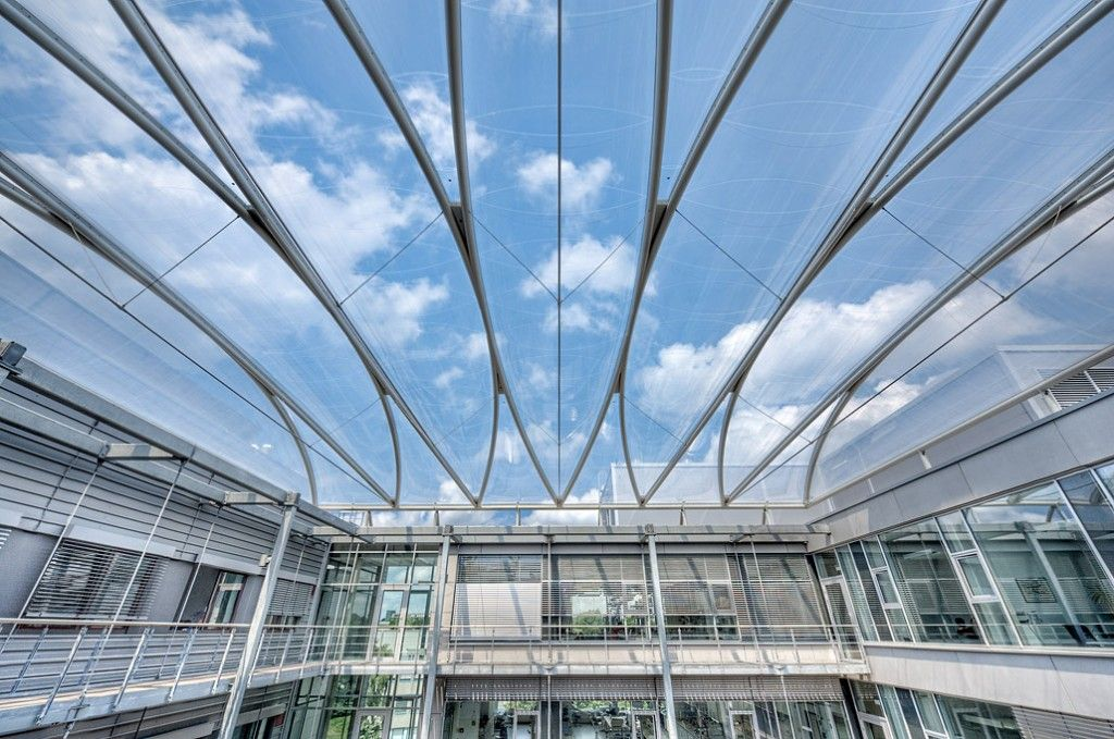 Etfe Structures Fabric Architect Membrane Roof Glass