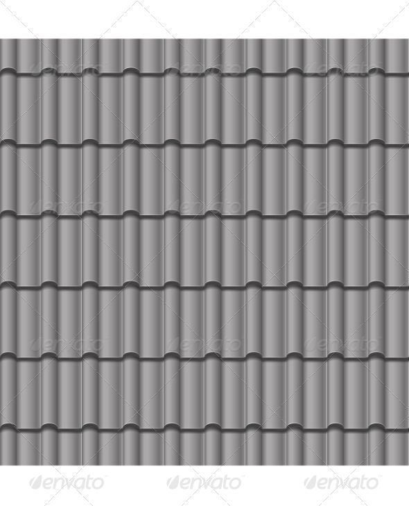 Roof Tile Seamless Background Grey Tiles Seamless Background Roof Tiles