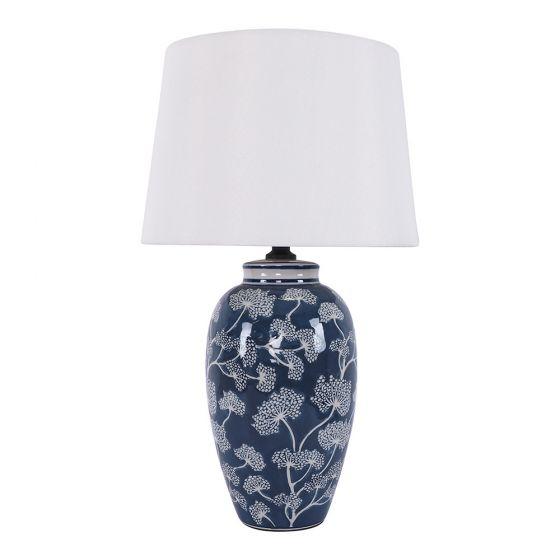Dandelion Ceramic Jar Table Lamp 55cm Classic Table Lamps Lighting Fans Jar Table Lamp Classic Table Lamp Table Lamp