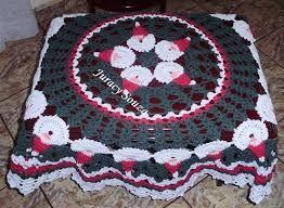 Resultado de imagem para toalhas em croche natalinas