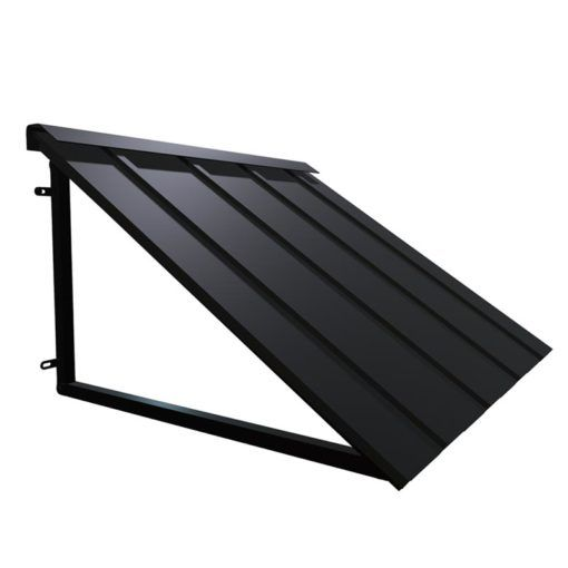 Houstonian Metal Standing Seam Awning In 2020 House Awnings Awning Over Door Front Door Awning
