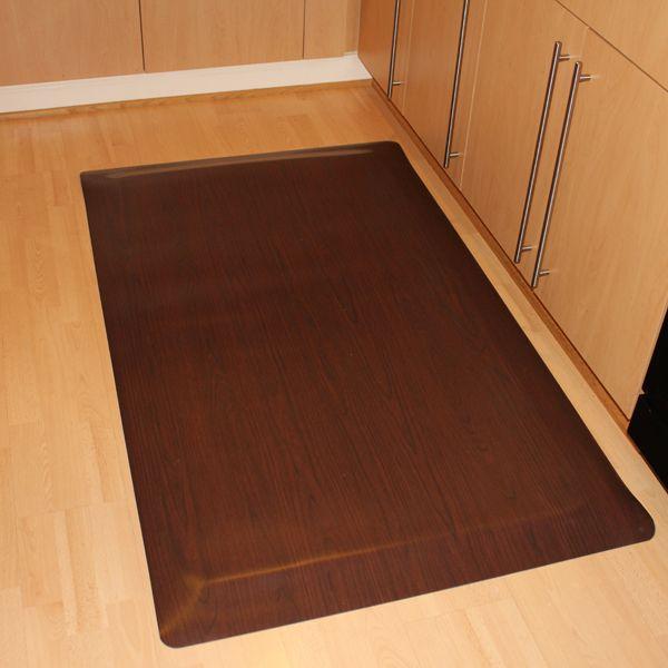 Woodoasis Anti Fatigue Mats Gel Mat For Kitchen Floor Kitchen Comfort Mat Rubber Flooring Kitchen Flooring