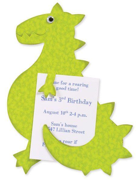 Wir Feiern Eine Dino Party Zum Kindergeburtstag Und Suchen Noch Nach Ner  Passenden Einladung.