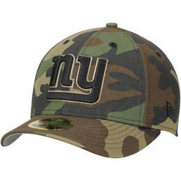 800963ded Men s New York Giants New Era Woodland Camo Low Profile 59FIFTY Fitted Hat