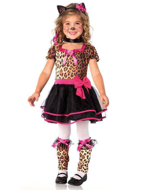 Kattenkostuum voor meisjes - Verkleedkleding - 110/116