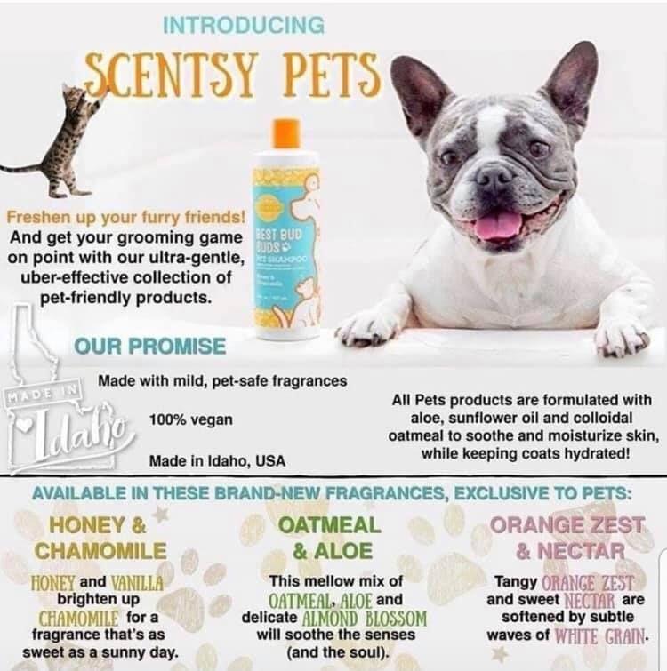 Scentsy Pets! No more stinky pet pals! nationaldogday