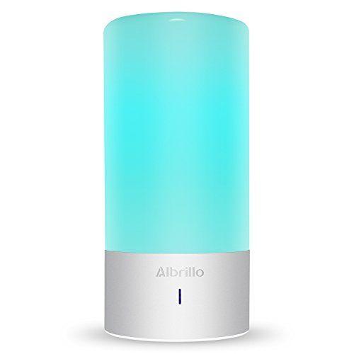 Albrillo LED Tischlampen Touch Funktion Farbwechsel Stimmungslicht Mit 256  Farbkombinationen Und Warmweißes Licht In 3 Helligkeitsstufen: Amazon.de:  ...