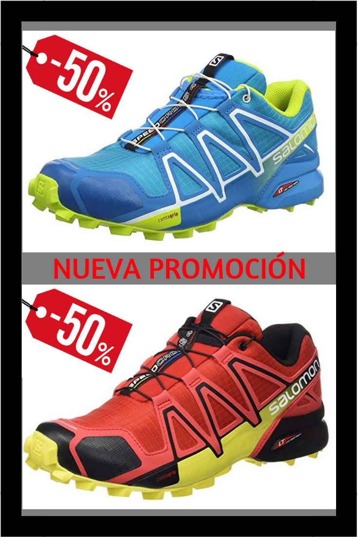 Salomon Speedcross 4, Zapatillas de Trail Running para ...