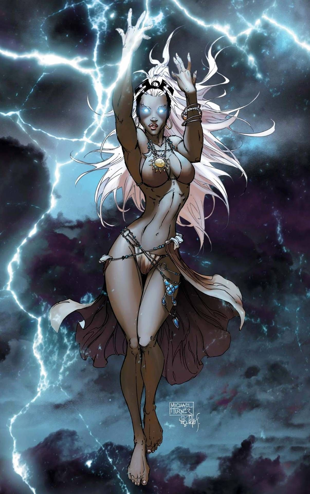 Rouge Jean Grey And Storm  20 Sexiest Female Comic Book -4187