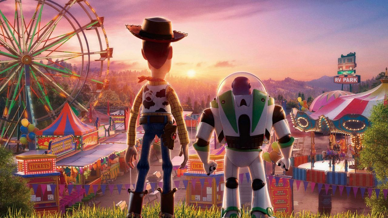 Wallpaper Toy Story 4 Woody Buzz Lightyear Animation 4k Movies 17903 Woody And Buzz Toy Story Movie Disney Drawings