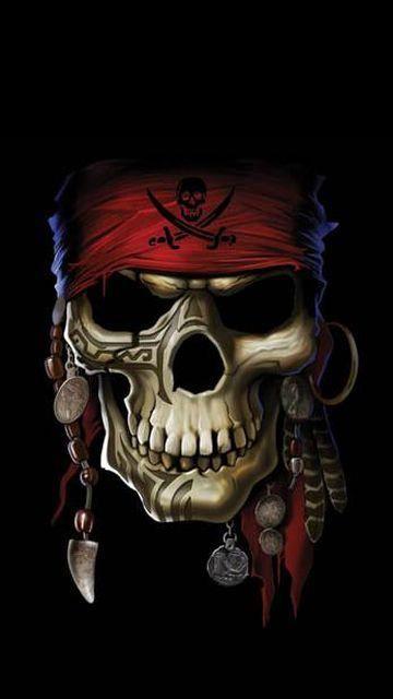 Pin De Dementys En Skulls Pinterest Calavera Pirata Calaveras Y