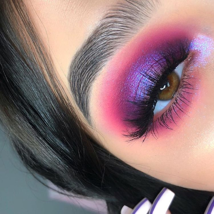 Pinterest Nandeezy Purple Makeup Eyeshadow Makeup Pink