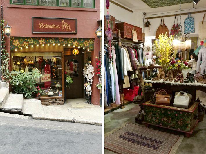 Bohemian Artistic At Aberdeen Street Hong Kong Shopping High Street Brands Shopping Guide