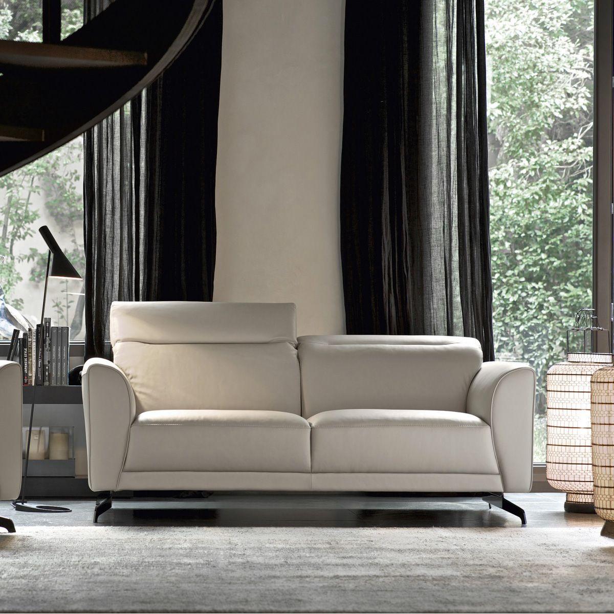 Edison doimo salotti divano in pelle classico emporio - Divano classico in pelle ...