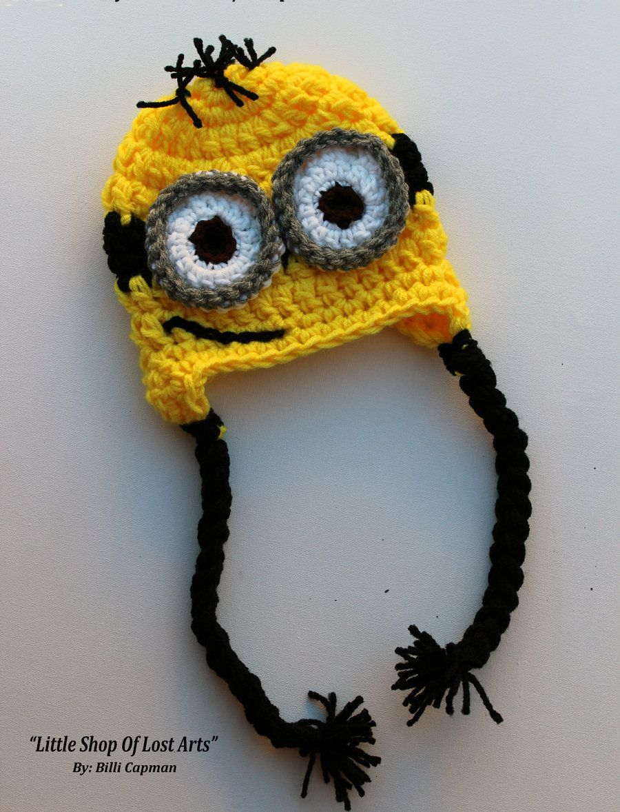 Minion Crochet Hat by ~LittleShopOfLostArts on deviantART | Crochet ...