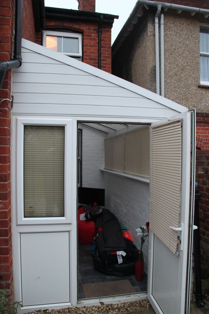 Upvc Lean To Conservatory Windows Door Blinds And Roof Lean To Conservatory Lean To Garden Log Cabins