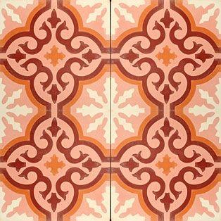 portugese-tegels -> VN Pink 04 - Designtegels