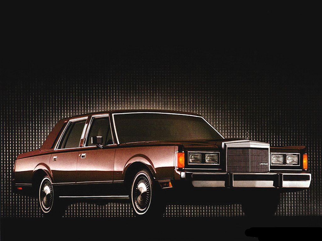 1985 Lincoln Continental Town Car Lincoln Town Car Lincoln Cars Car