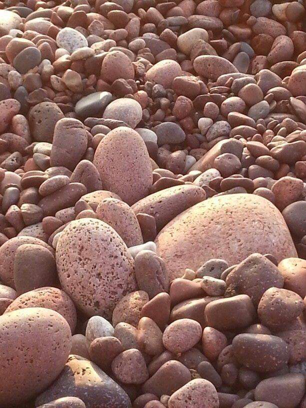 Lake Superior rocks, Gratiot River Park, Keewenaw County