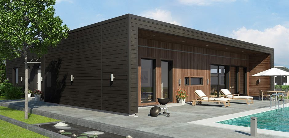 Self Build Kit Homes From Sweden Scandinavian Homes Ltd Timber Frame Building Scandinavian Home Cedar Cladding House