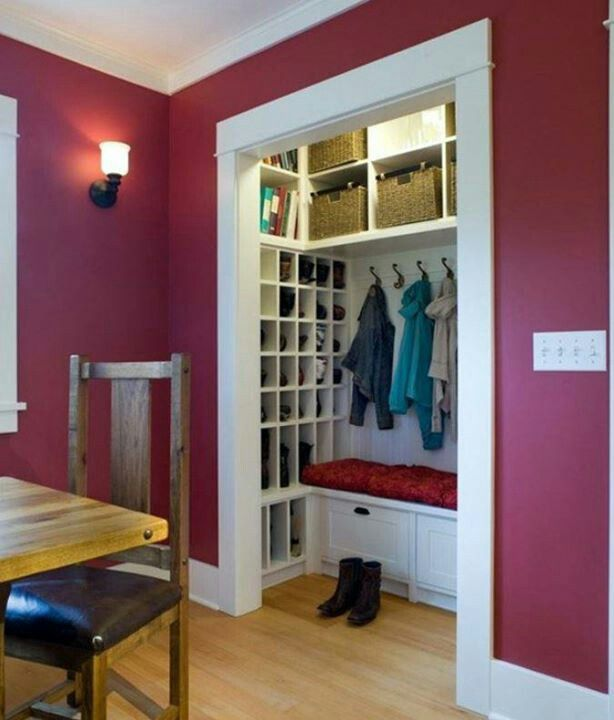Best 25 Modern Garage Ideas On Pinterest: Best 25+ Small Coat Closet Ideas On Pinterest