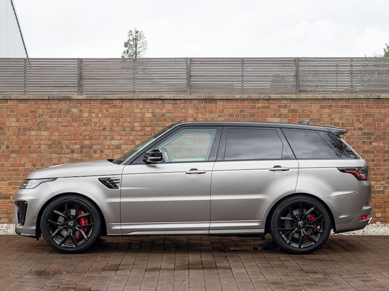 Photo of 2019 Used Land Rover Range Rover Sport SVR | SVO Flux Grey Satin Paint