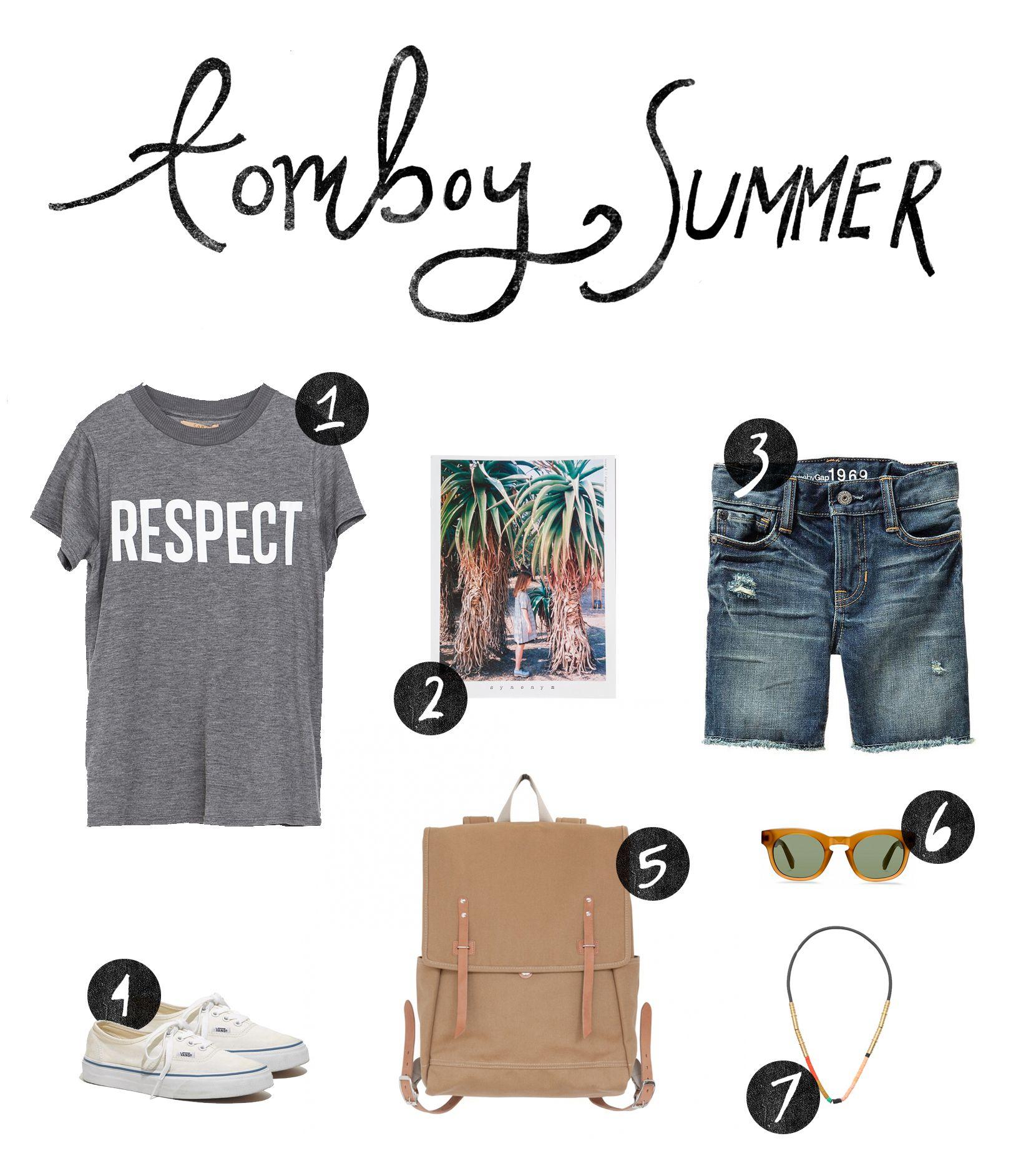 Tomboy Summer Style