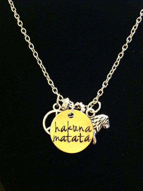 Hakuna Matata Necklace Dress To Impress Pinterest Hakuna