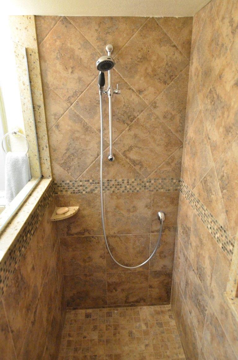 Shower tile 13 x 13 amalfi noce 4 boarder of sl harvest shower tile 13 x 13 amalfi noce 4 boarder of sl dailygadgetfo Gallery