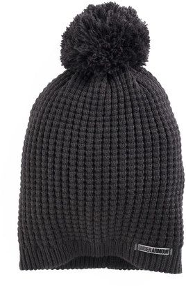 d1aba0b2fcf Under Armour Women s Under Armour Favorite Waffle-Knit Pom Pom Beanie  hat   womens