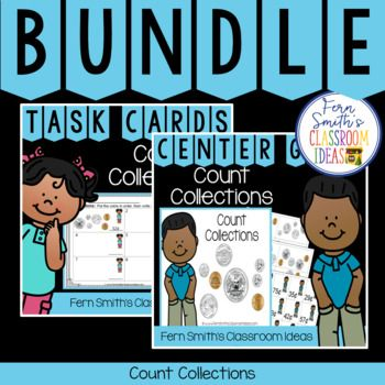 2nd Grade Go Math 73 Count Collections Bundle In 2018 Center