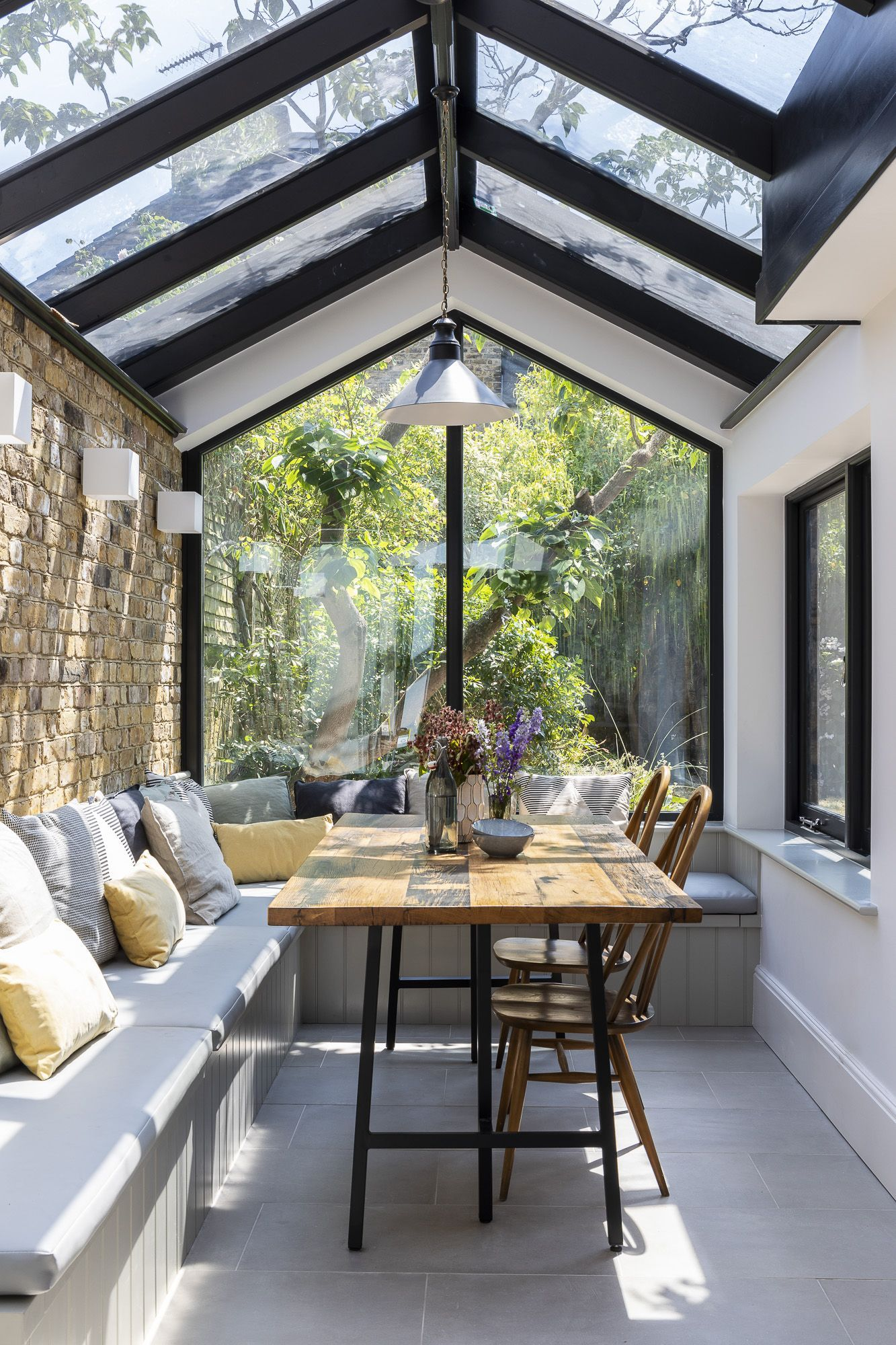 Interior design by imperfect interiors in this large open plan kitchen diner extension barnes also splendid barndominium floor plans for your home rh pinterest