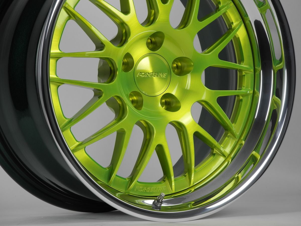 The forgeline in our new fury green powder coat not to be confused with
