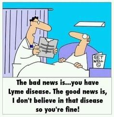 Image result for lyme disease funny
