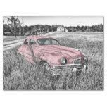 Pink Classic Car Decoupage Tissue Paper   Zazzle.com #FinanceWallpapers youtube2…