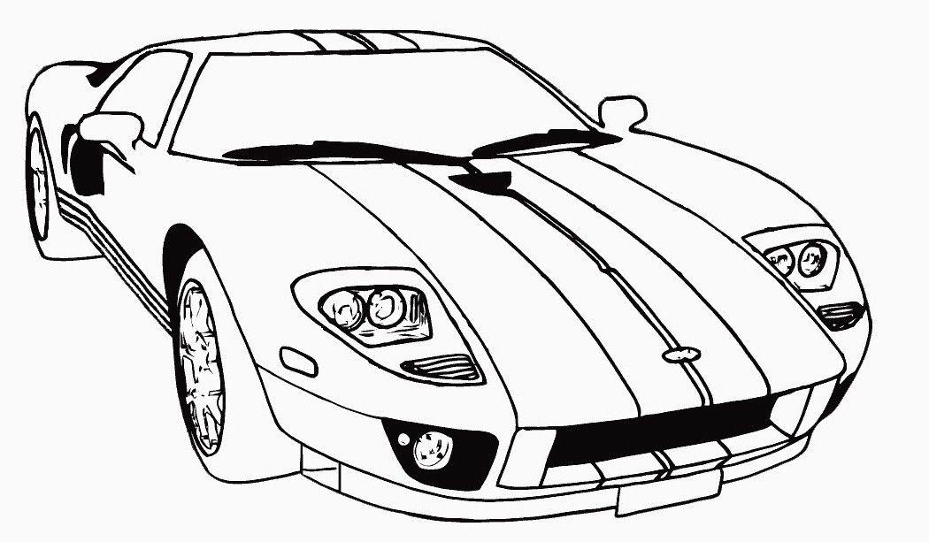 Race Car Coloring Pages 240 Ville