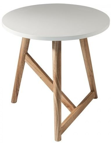 gallery direct hamar white round side table white side on exclusive modern nesting end tables design ideas very functional furnishings id=11602