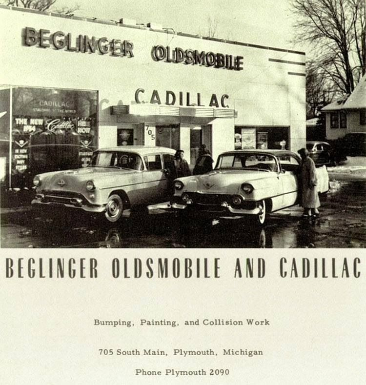 Promo Cadillac Oldsmobile Car Dealer ad | Vintage Car Dealerships ...