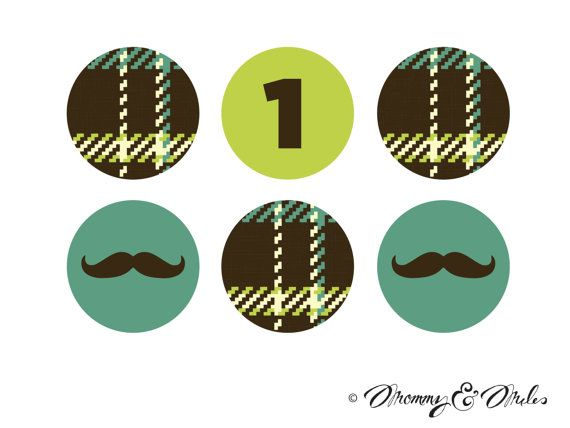 Babies First Birthday  Mustache Bash  PRINTABLE by MommyandMiles, $2.50