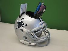 Dallas Cowboys Mini Helmet Custom Desk Caddy Desk Caddy Dallas Cowboys Custom Desk