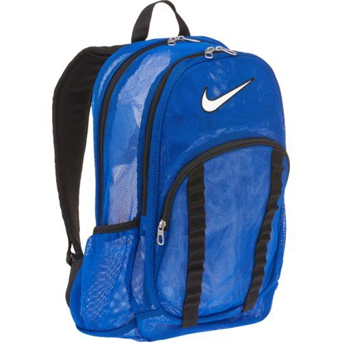 Nike Men s Brasilia 7 Large Mesh Backpack Blue - Backpacks at Academy Sports 8a93727b70587