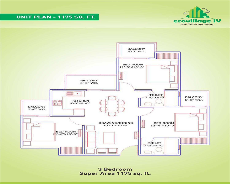 Supertech Eco Village 4 Noida Extension Noida
