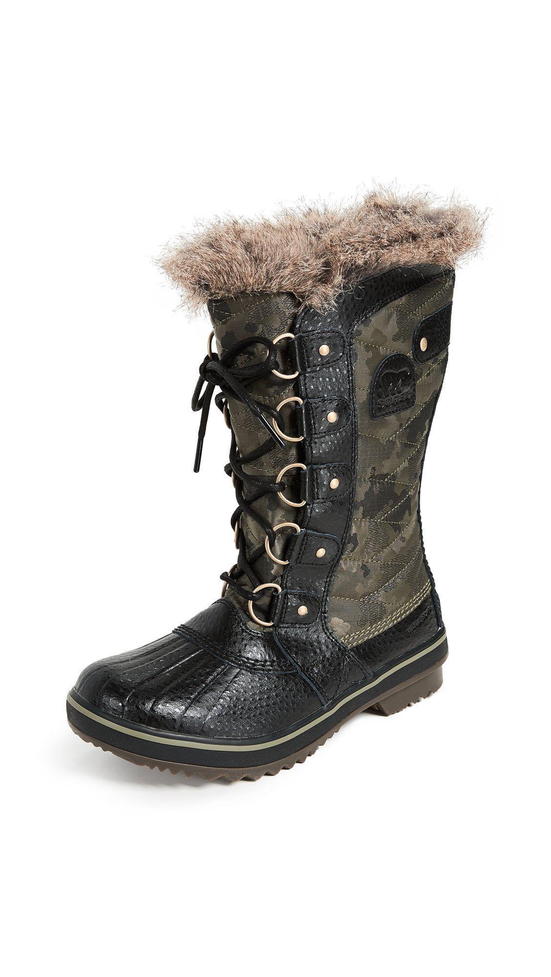 14ff82591d9c5 Tofino II Boots, #Camo/HikerGreen #Nylon/Leather/Fur #Sorel #TofinoIIBoots