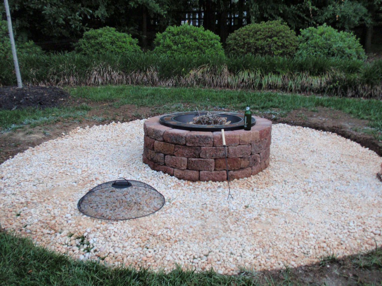 Excited to give this a try this upcoming spring our for Backyard brick fire pit