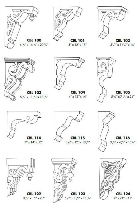 Design Your Own Corbel Embellishments And Small Upgrade