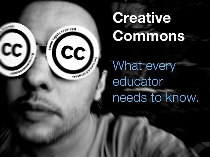 creative-commons-what-every-educator-needs-to-know-presentation by Rodd Lucier via Slideshare