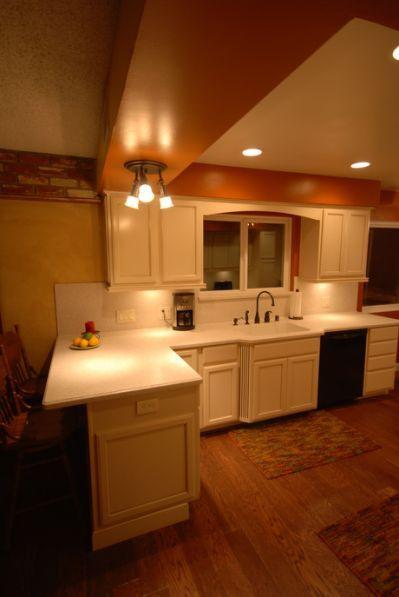 KraftMaid canvas cabinets.   Soft   Kitchen cabinet styles